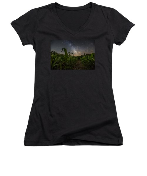 Iowa Corn Women's V-Neck T-Shirt