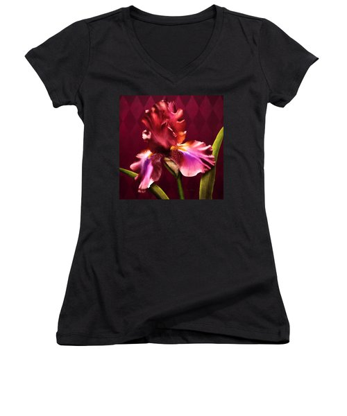 Iris I Women's V-Neck T-Shirt
