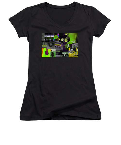 It's All About Music Women's V-Neck