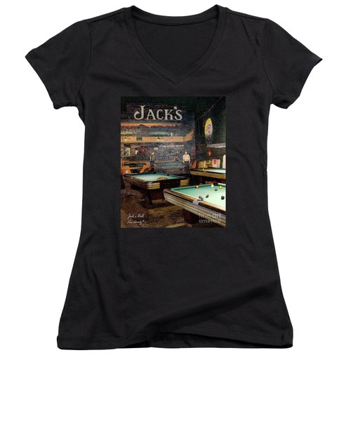 Jack's Wall Women's V-Neck