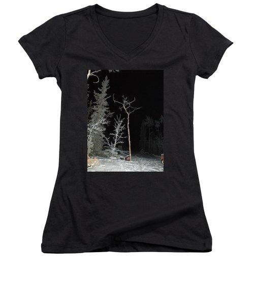 Jete Women's V-Neck T-Shirt (Junior Cut) by Brian Boyle