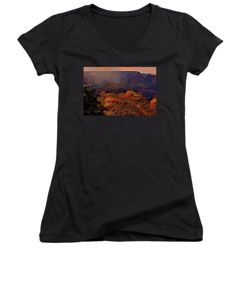 Jewel Of The Grand Canyon Women's V-Neck (Athletic Fit)