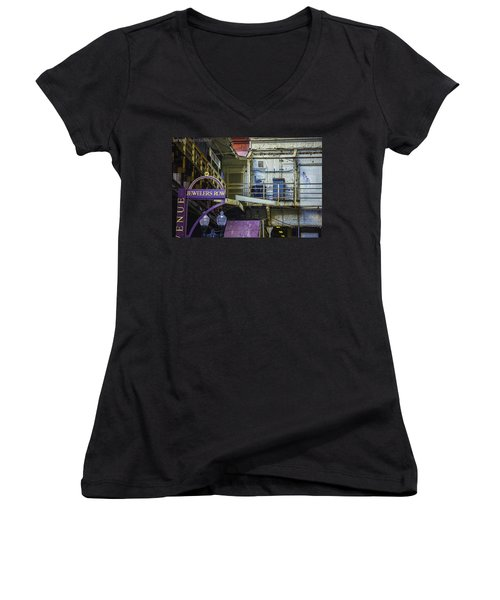 Jewelers Row Women's V-Neck (Athletic Fit)