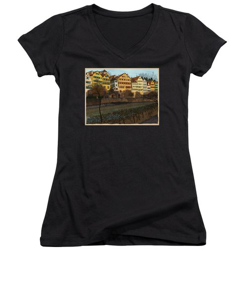 Judith's Walk Women's V-Neck T-Shirt