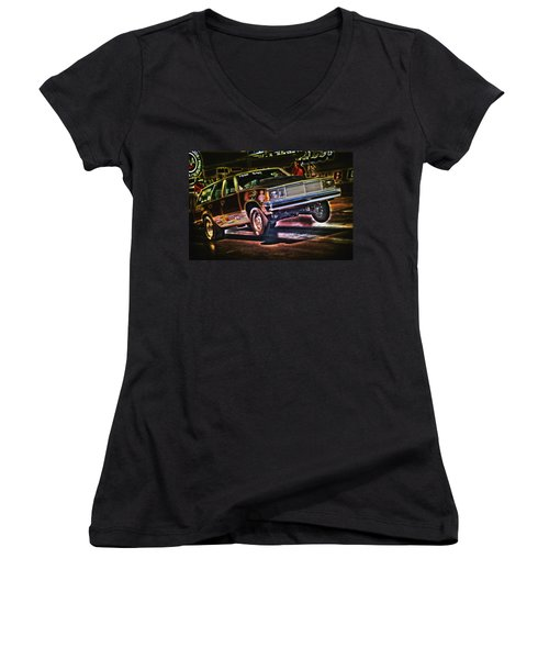 Jumping Chevelle Women's V-Neck (Athletic Fit)