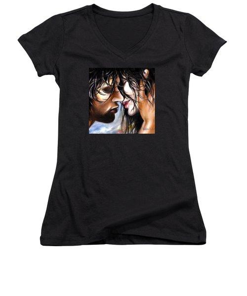 June Breeze Women's V-Neck T-Shirt