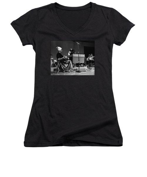 June Tyson 1968 Women's V-Neck