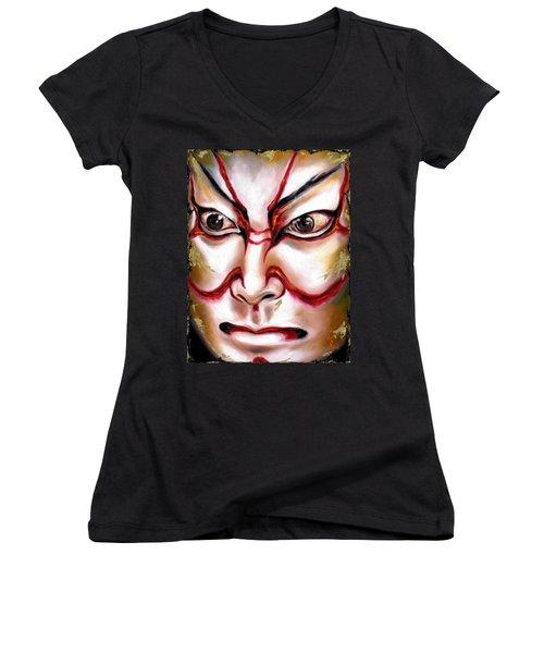 Kabuki One Women's V-Neck