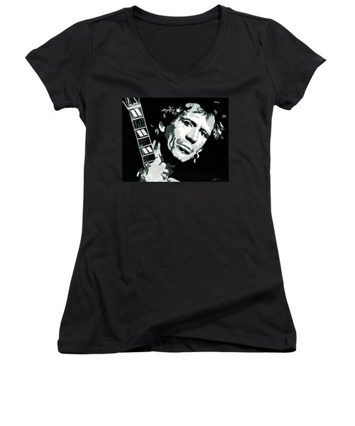 Keith Richards The Rock Star Women's V-Neck