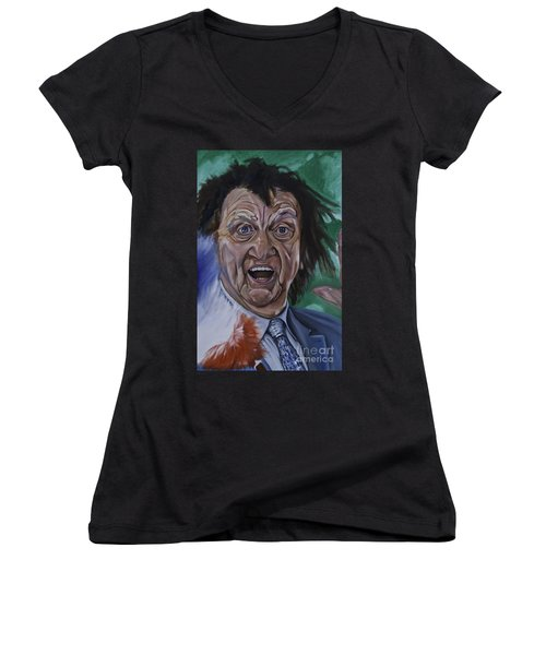 Ken Dodd Women's V-Neck