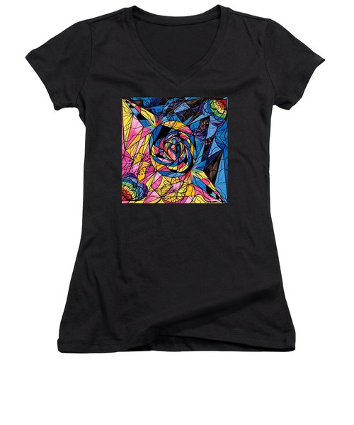 Kindred Soul Women's V-Neck (Athletic Fit)
