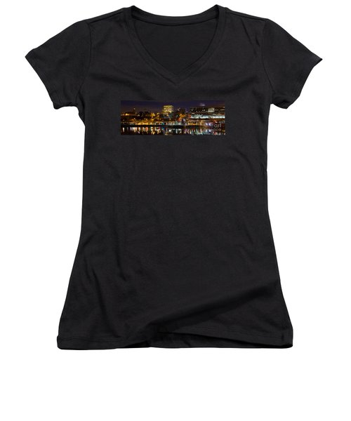Knoxville Waterfront Women's V-Neck T-Shirt