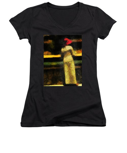 Koi Dream Women's V-Neck T-Shirt