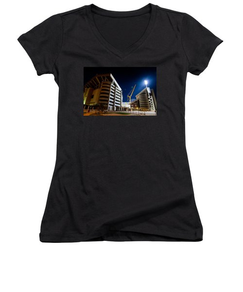 Kyle Field Construction Women's V-Neck T-Shirt