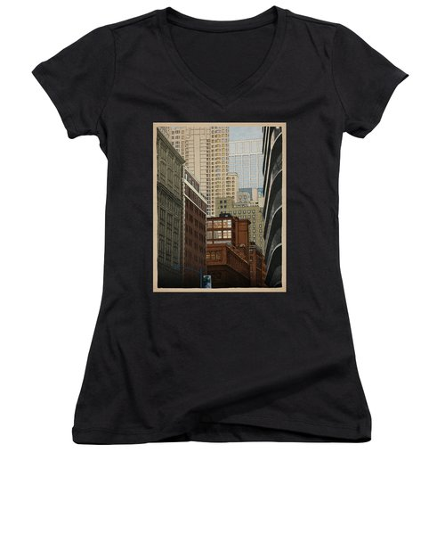 Labyrinth Women's V-Neck T-Shirt