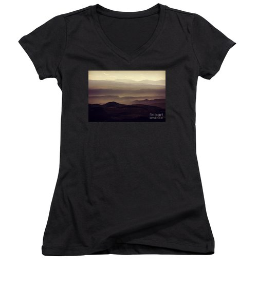 Layers Of Time Women's V-Neck