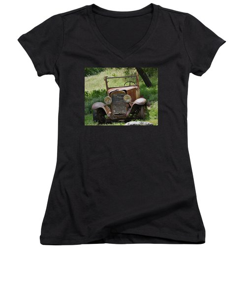 Left To Die Women's V-Neck (Athletic Fit)