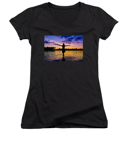 Legend Women's V-Neck (Athletic Fit)