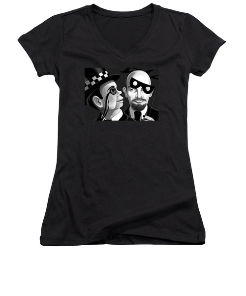 Lenin And Mccarthy   Women's V-Neck