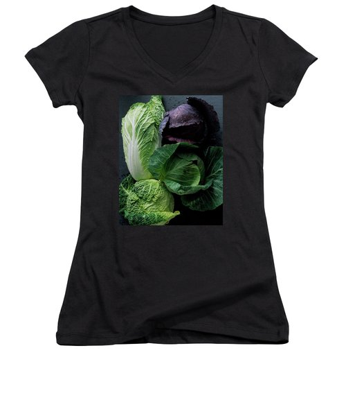 Lettuce Women's V-Neck T-Shirt (Junior Cut)