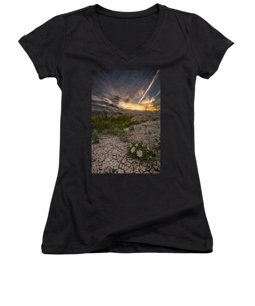 Life Finds A Way Women's V-Neck
