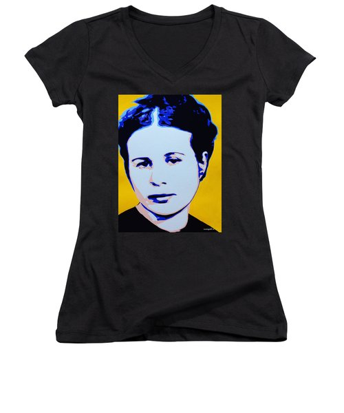 Life In A Jar. Irena Sendler Women's V-Neck T-Shirt