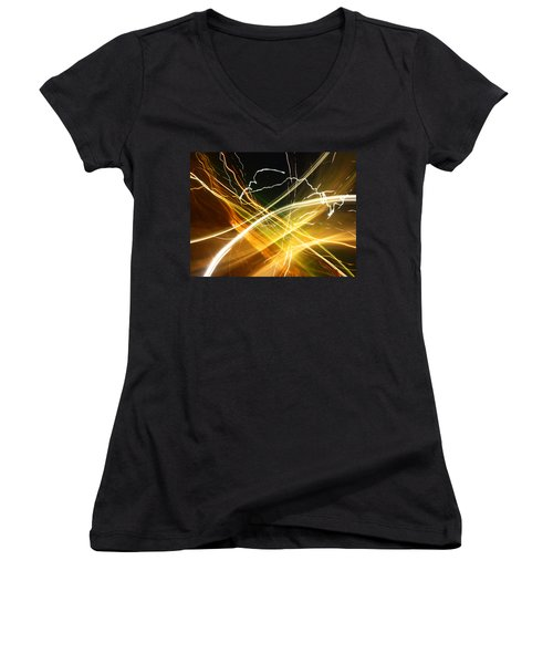 Light Curves 3 Women's V-Neck T-Shirt