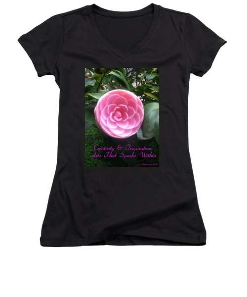 Light Of The Garden Women's V-Neck T-Shirt