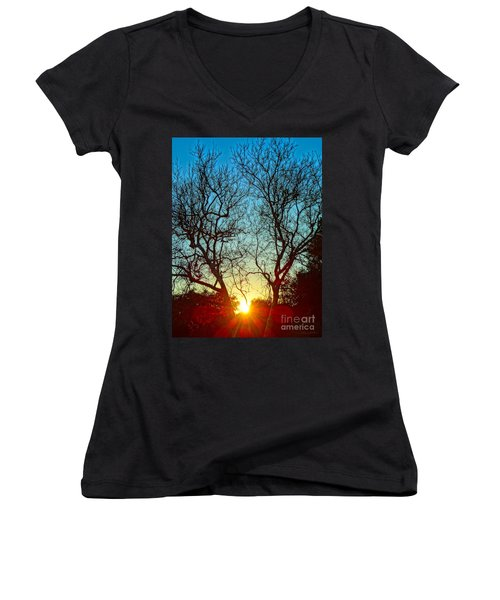 Light Sanctuary Women's V-Neck T-Shirt