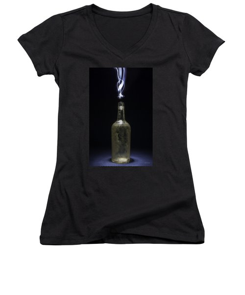Lighting By The Quart - Light Painting Women's V-Neck (Athletic Fit)