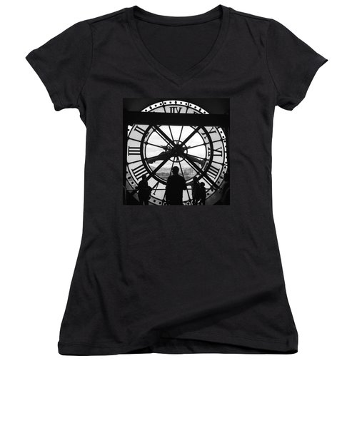 Like Clockwork Women's V-Neck T-Shirt
