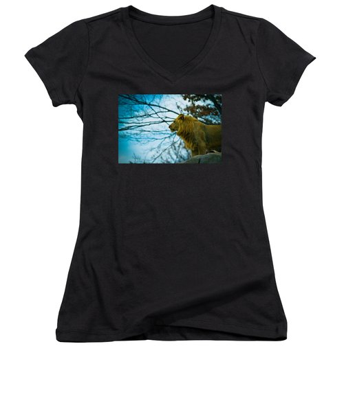 Lion King Women's V-Neck T-Shirt