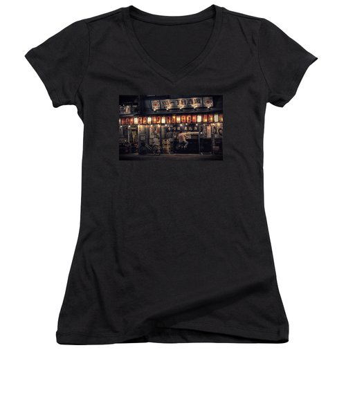 Local Soba Women's V-Neck (Athletic Fit)