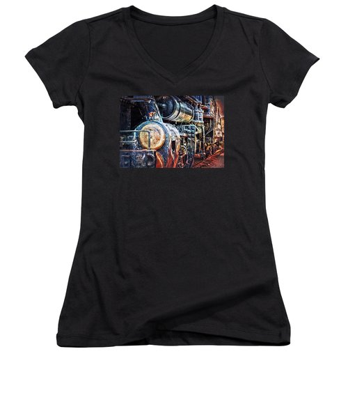 Locomotive Women's V-Neck