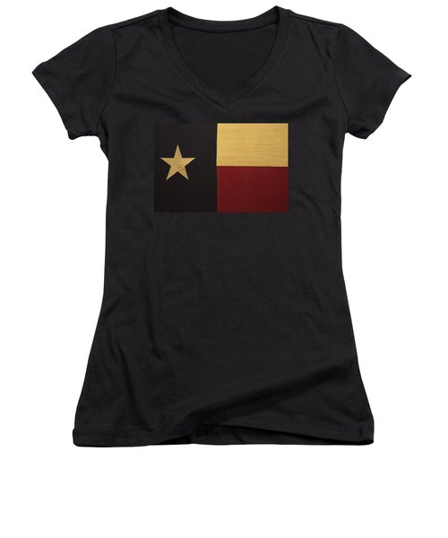 Lone Star Proud Women's V-Neck (Athletic Fit)