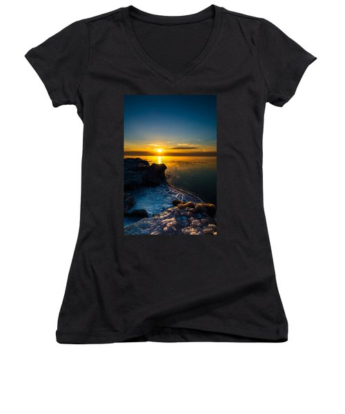 Long Cold Winter II Women's V-Neck