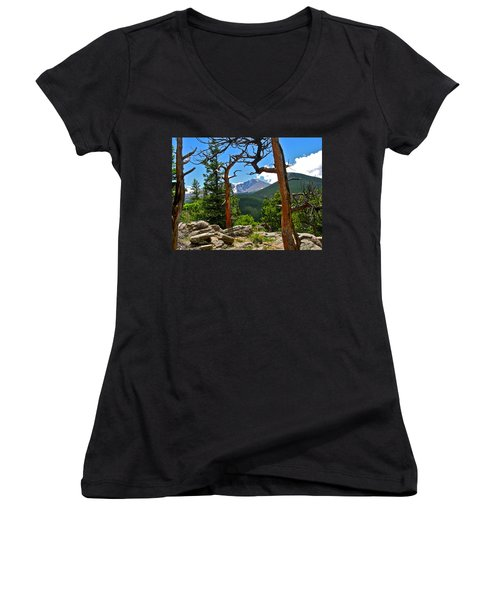 Longs Peak Women's V-Neck