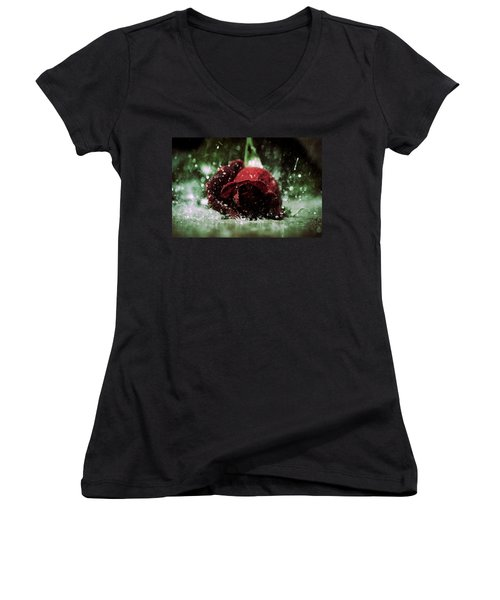 Lost Love Women's V-Neck (Athletic Fit)