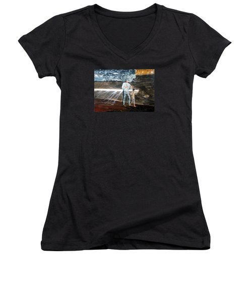 Lost Sometimes Women's V-Neck T-Shirt