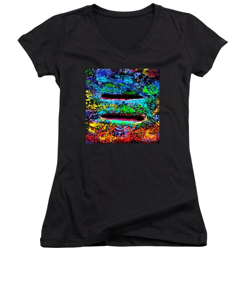 Love Knows No Bounds Women's V-Neck (Athletic Fit)