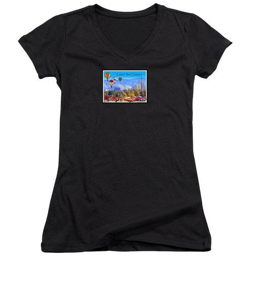 Lovin The Classics Women's V-Neck T-Shirt (Junior Cut)