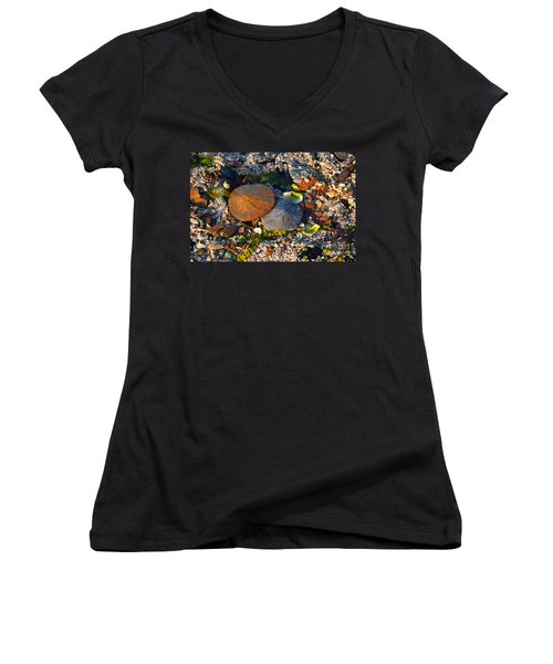 Low Tide Lovers Women's V-Neck (Athletic Fit)