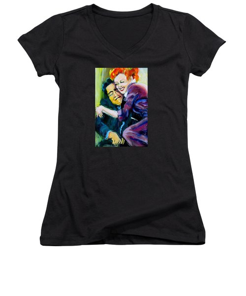 Lucy And Ricky Women's V-Neck T-Shirt