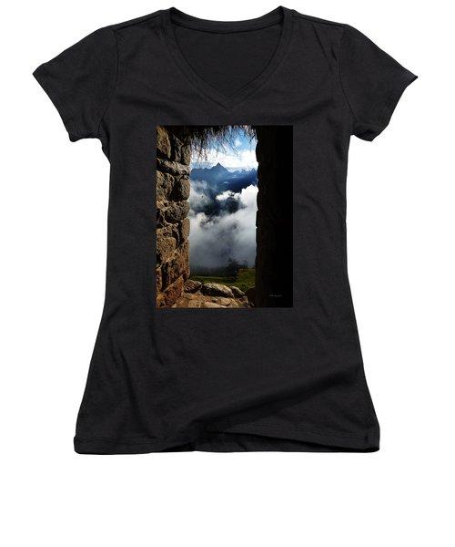Machu Picchu Peru 4 Women's V-Neck T-Shirt