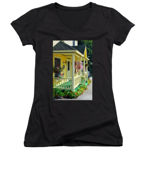 Mackinac Island Americana Women's V-Neck