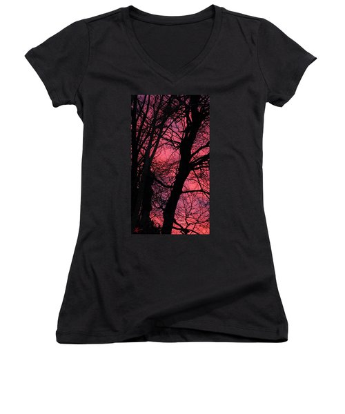 Magic Sunset  Women's V-Neck