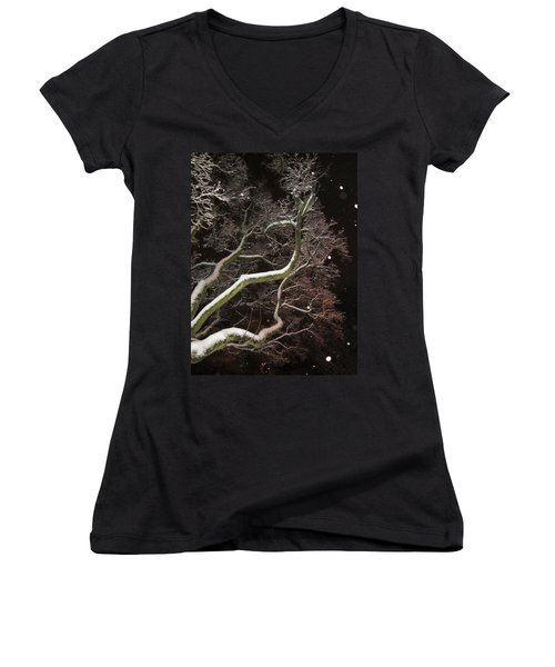 Magic Tree Women's V-Neck (Athletic Fit)