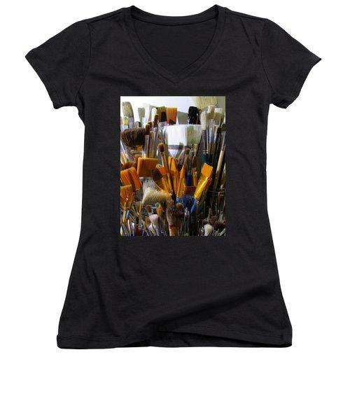 Magic Wands Women's V-Neck T-Shirt