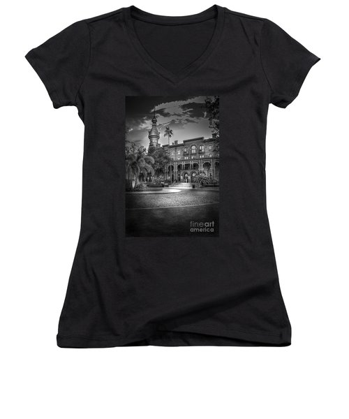 Main Entry Women's V-Neck T-Shirt