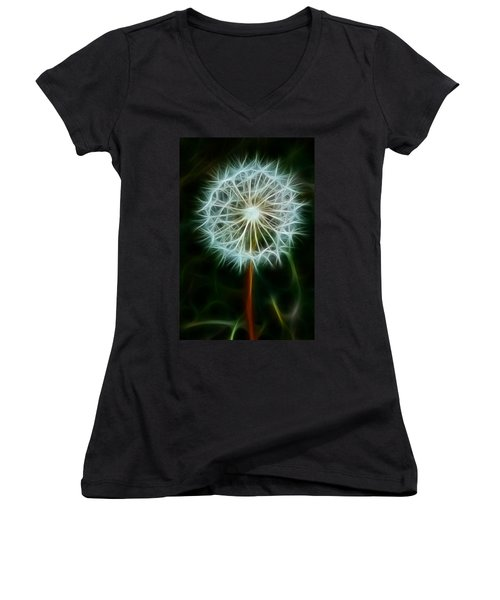 Make A Wish Women's V-Neck T-Shirt